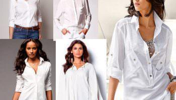 Эта вещь должна быть в гардеробе каждой женщины! Подбираем белую блузку!