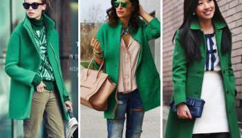 Изумрудный зеленый: шикарный цвет для шикарных женщин!