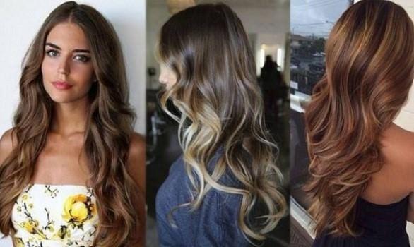 Покраска волос в два цвета. Фото средней длины, короткие, длинные, темный верх светлый низ, светлый верх темный низ. Инструкция