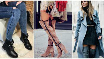 Утепляем наши ножки: модные сапоги этого сезона и 50 потрясающих образов в них