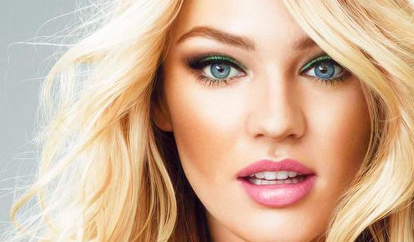Брови для блондинок с голубыми глазами