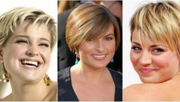 Подбираем правильную стрижку для полных женщин по форме лица (65 фото)