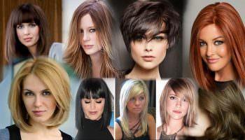 Модные женские стрижки на средние волосы: основные виды, варианты исполнения (213 фото)
