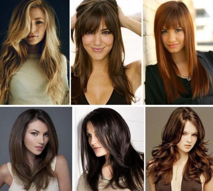 Модные стрижки на длинные волосы 2020-2021, красивые длинные стрижки фото, тренды, тенденции