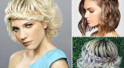 Прически на средние волосы: праздничные, вечерние и повседневные (более 200 фото + видео)