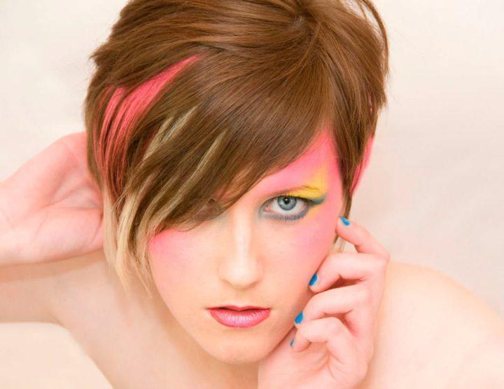 как покрасить волосы в два цвета фото фанатам