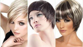 Модное окрашивание на короткие волосы (51 фото)