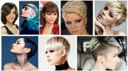 Самые модные женские стрижки 2019 года на короткие волосы (55 фото)