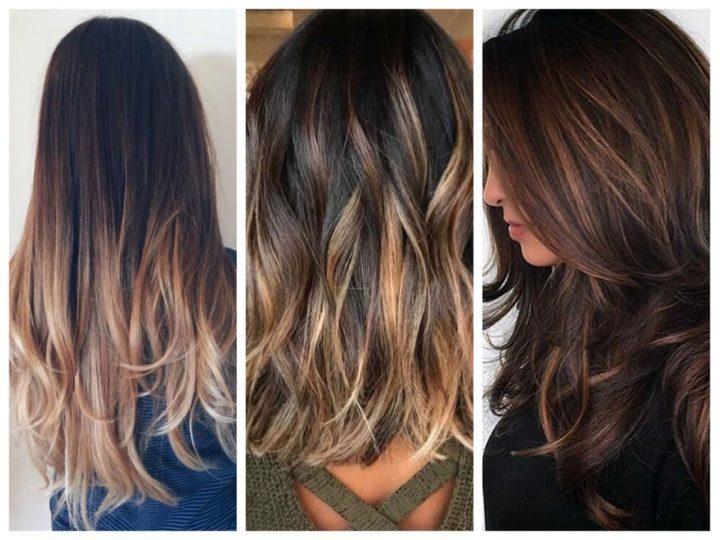 Как покрасить длинные темные волосы