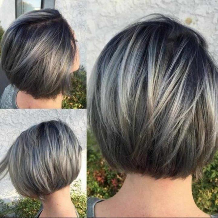 Стрижка Каскад на короткие волосы: как стричь, вид сзади