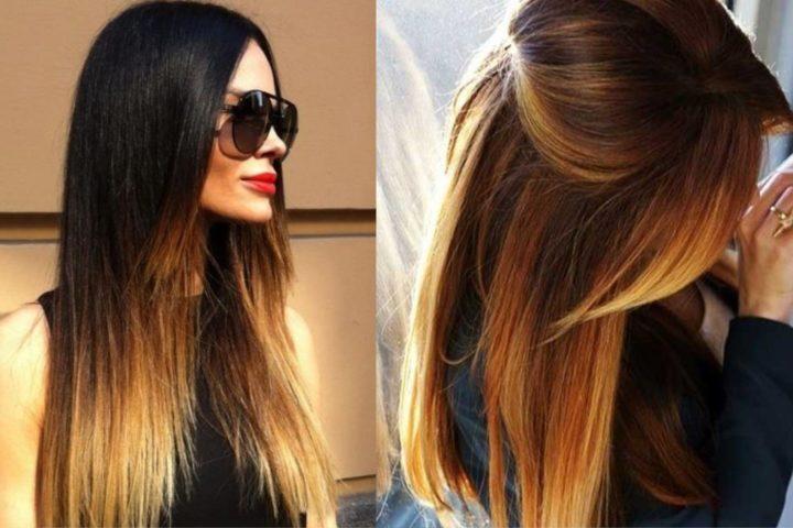 Картинки покраска длинных волос