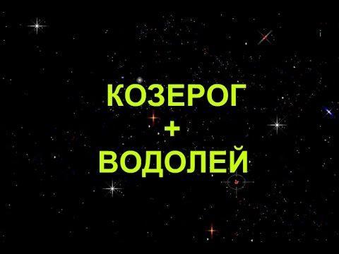 Совместимость знаков Козерог + Водолей в любви и дружбе