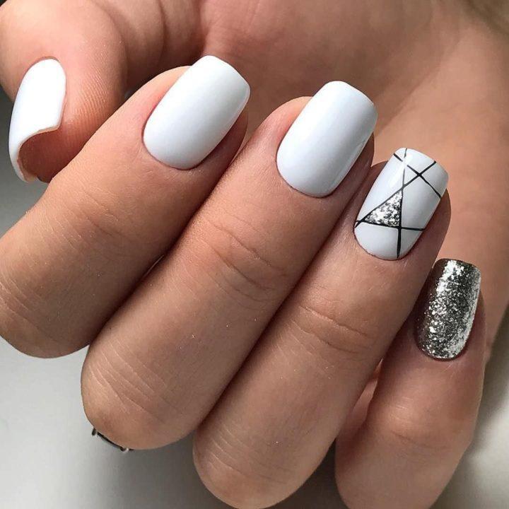 Новые идеи для маникюра на короткие ногти