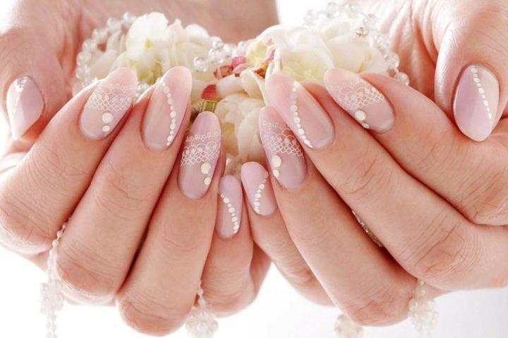 Свадебный маникюр: 66 роскошных идей
