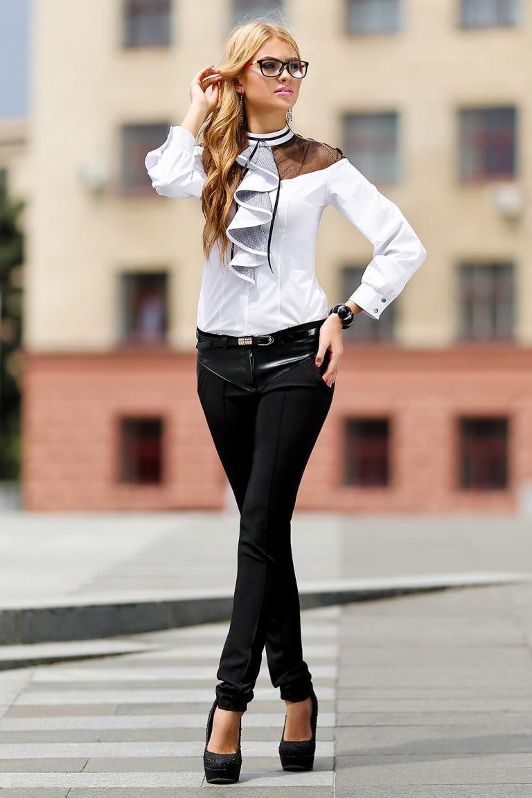 каждом уколе с чем сочетать черную блузку фото вам очень везёт