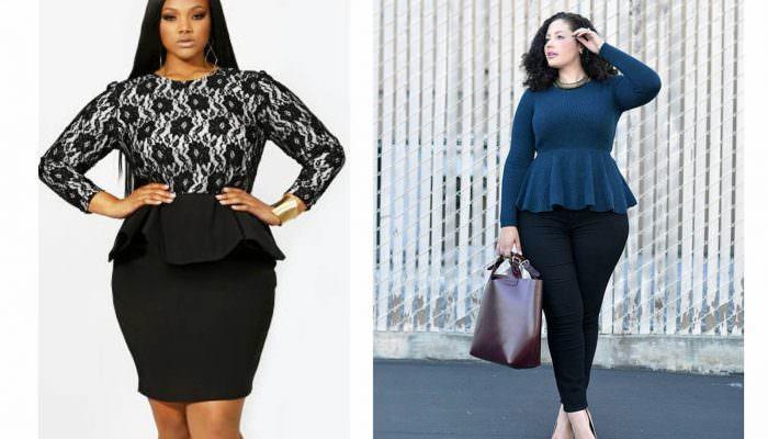 Как одеваться полным женщинам (основные правила, 54 фото)