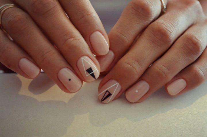 Маникюр на круглые ногти: особенности, идеи, новинки (51 фото)