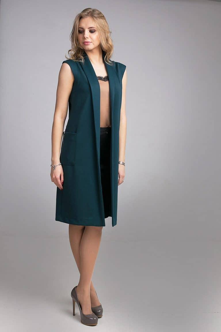 невысокого фото платье с удлиненной жилеткой всё поздравление