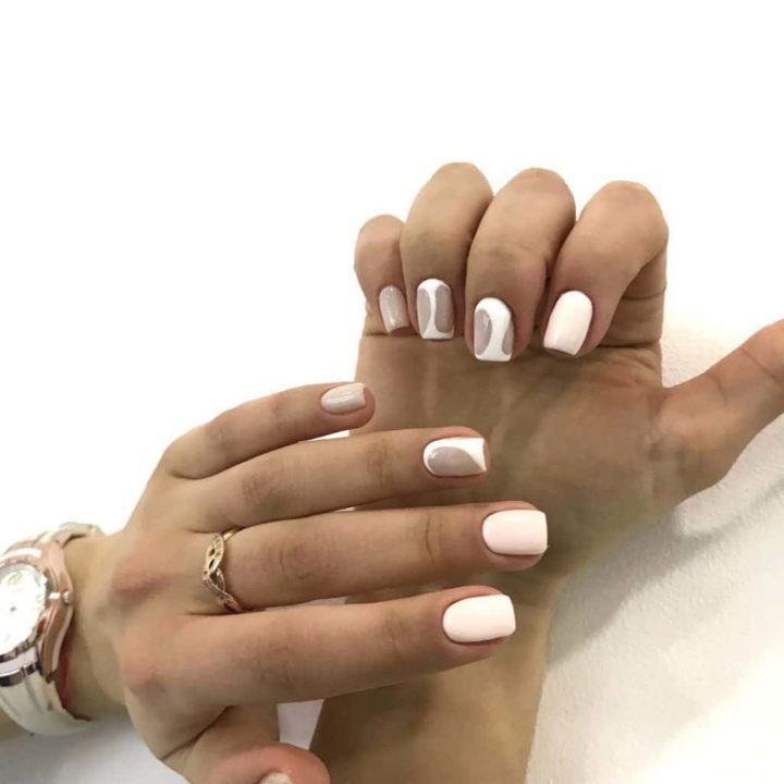 Квадратные ногти, квадратная форма, особенности
