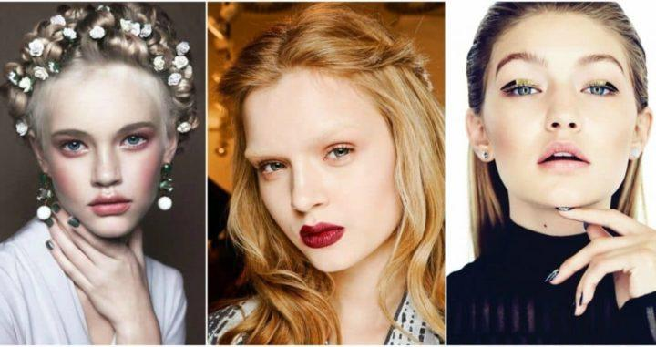 Макияж осень 2019: тенденции, коллекции, модные идеи (109 фото)