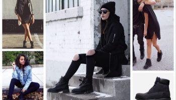 Ботинки — лучший выбор для ваших ног (50 фото)