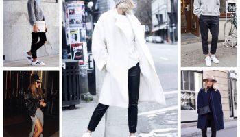 Белые кроссовки, как икона стиля (67 фото)