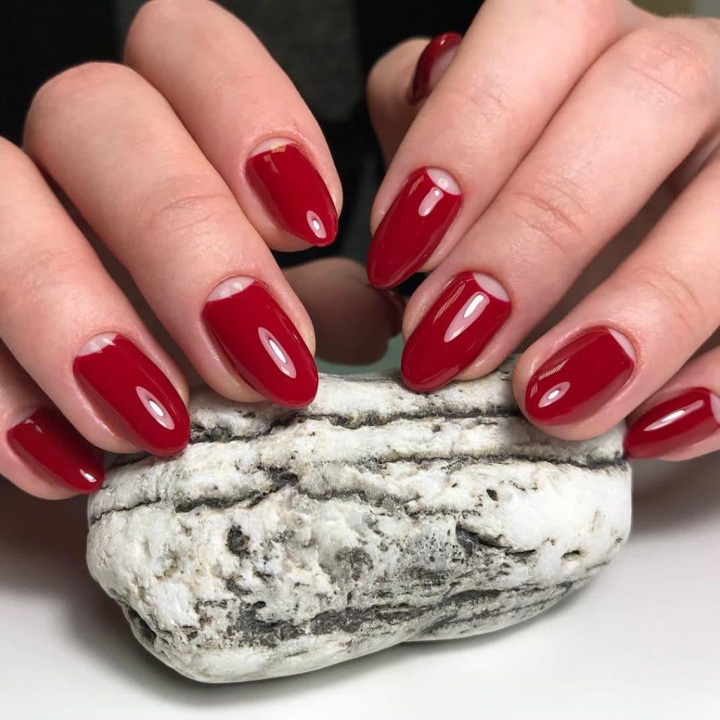 Лунный маникюр на небосводе nail-арта (60 фото)