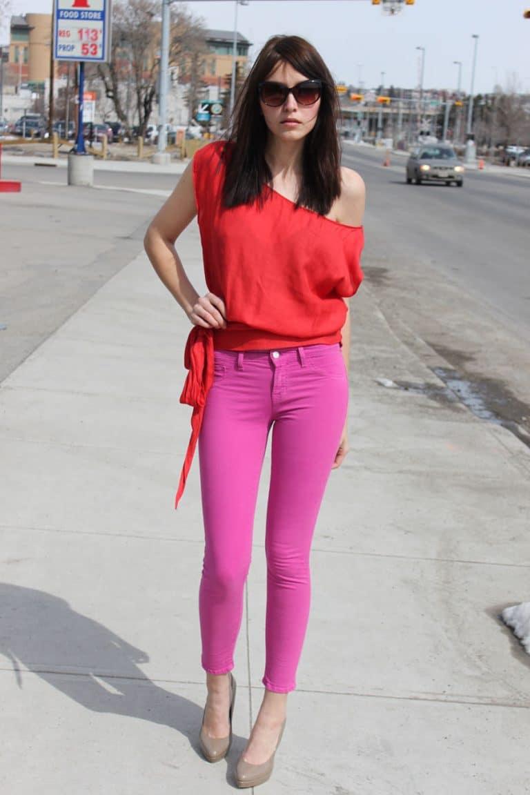 Лучший анал фото девушки в розовых штанах