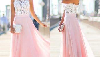 С чем носить длинное платье в пол? (51 фото)