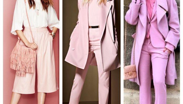 Розовый цвет в одежде: с чем сочетать? (50 фото)