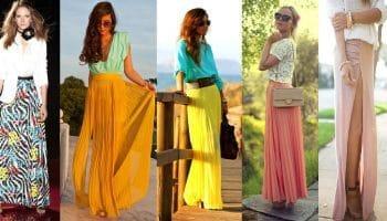 С чем носить летние юбки: советы для модниц (70 фото)