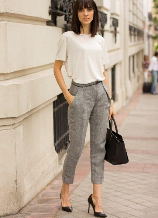 Классические брюки — с чем сочетать? (51 фото)