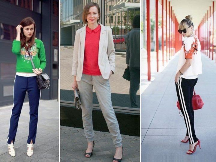 С чем носить спортивные штаны? (54 фото)