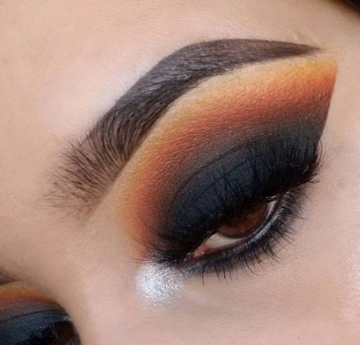соединении фланцев фото макияжа для карих глаз на хэллоуин фото