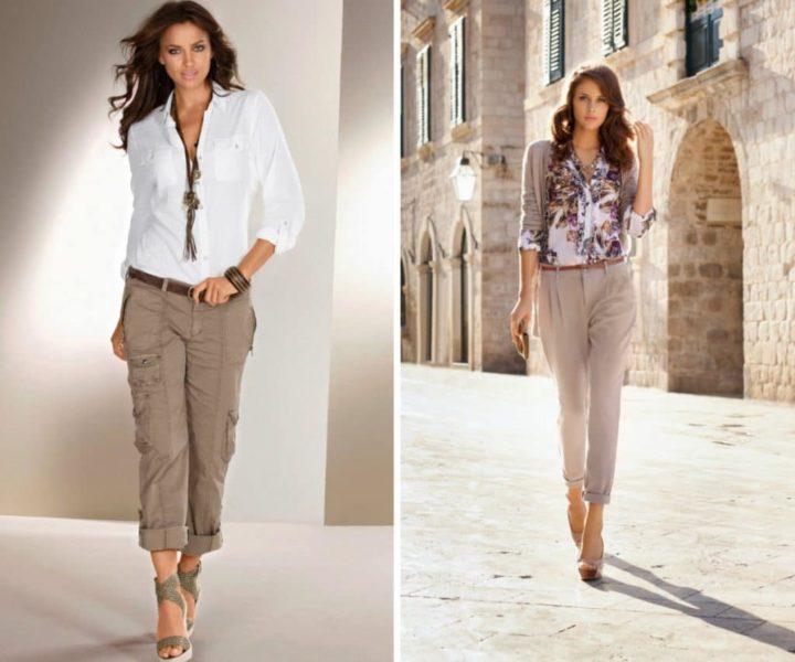 Укороченные брюки — носим правильно