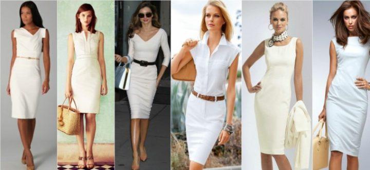 0743476689f417a Наиболее популярны белые платья в летний сезон, их можно носить с  широкополыми шляпами, хорошо смотрятся в сочетании с белым платьем черные  солнечные очки.