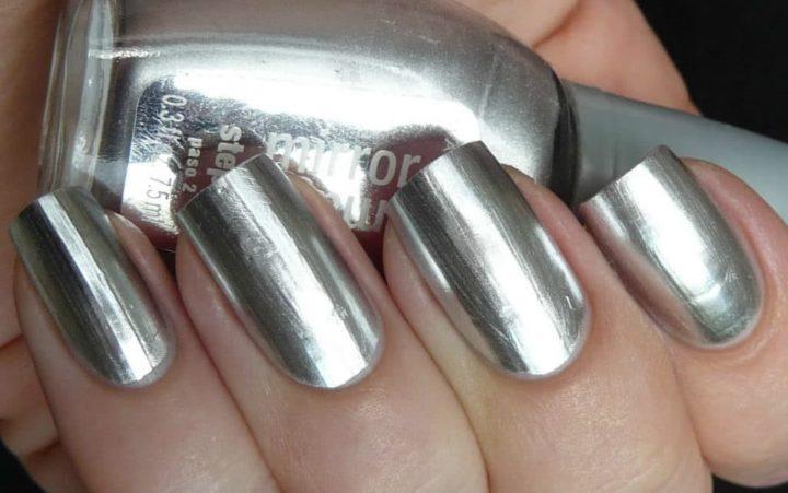 Купить зеркальный лак для ногтей #12