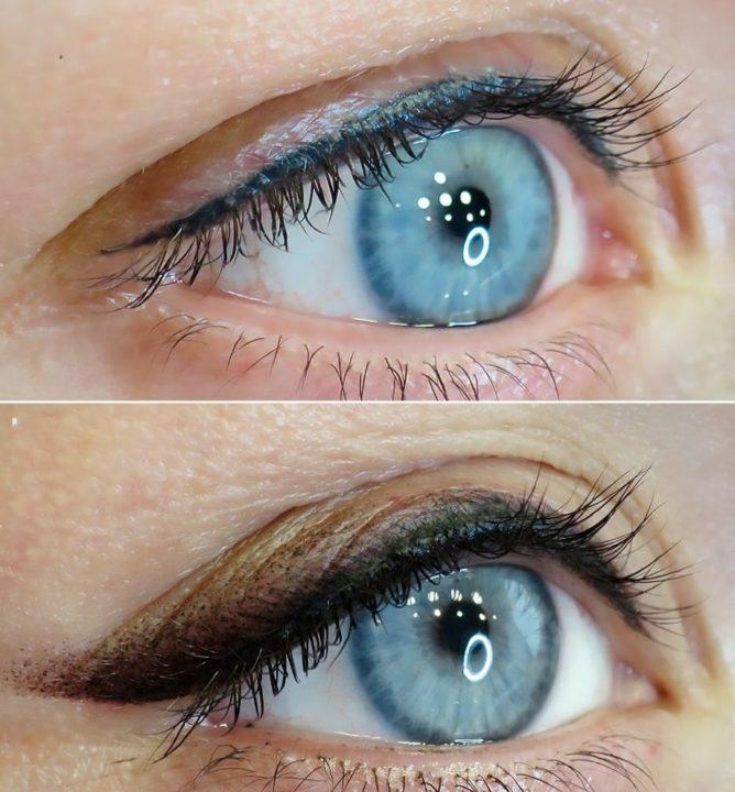 исправление татуажа глаз фото фото пол