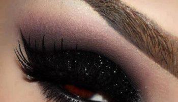 Черный макияж для роковых красоток (50 фото)