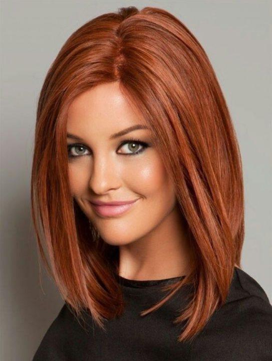 Каким цветом красить брови если волосы рыжие