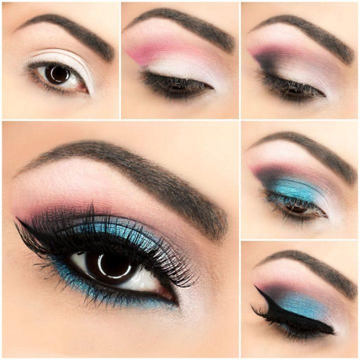 атмосфера романтики макияж глаз пошаговое фото с описанием того, эту