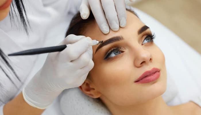 Перманентный макияж: Техники выполнения, уход, коррекция, а также подборка фото до и после (198 фото)
