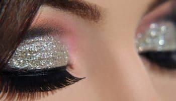 Серебряный макияж — весь блеск на ваших глазах (50 фото)