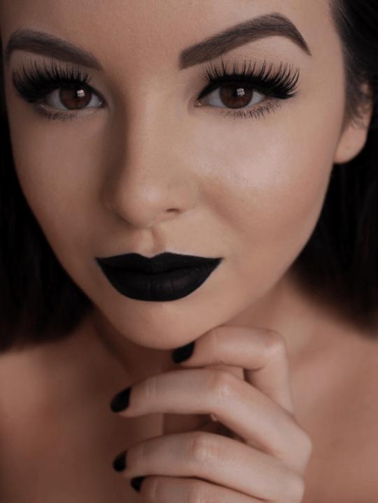 Черные губы картинки