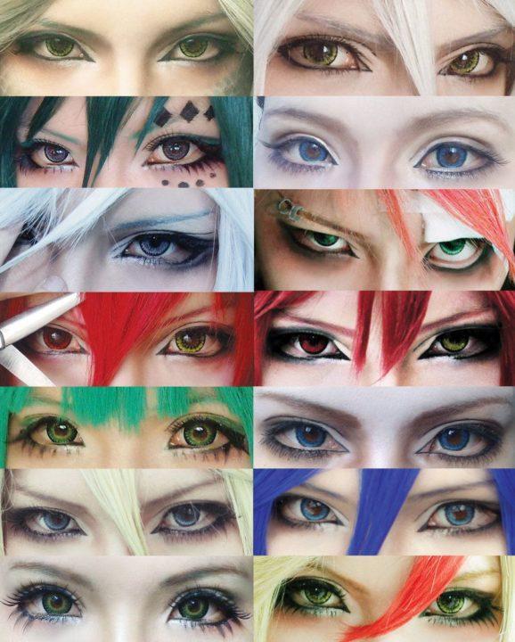 Аниме макияж (40 фото)