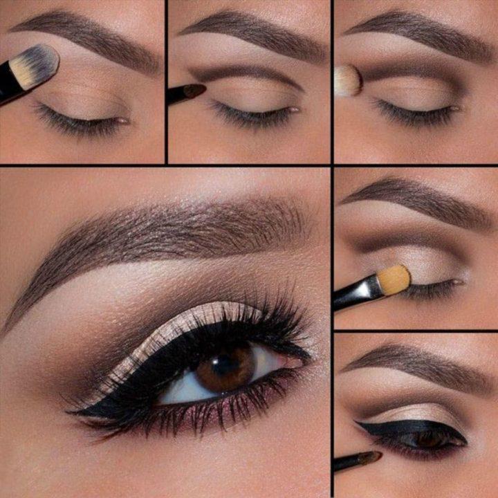 Мастер класс макияж в картинках