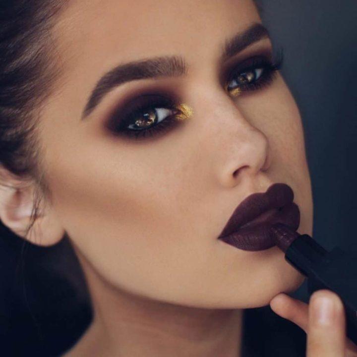 Самый темный макияж (50 фото)