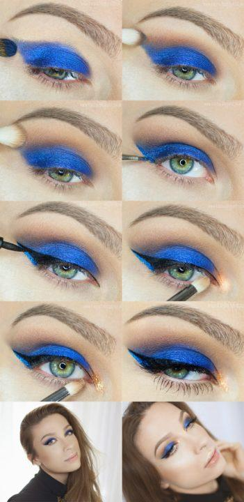 Видео уроки макияжа глаз для начинающих в домашних