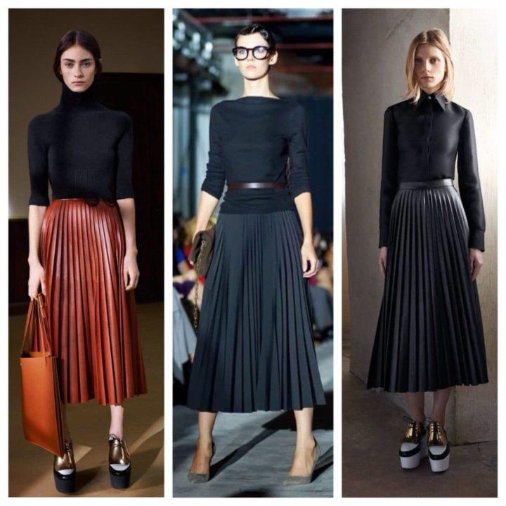 dc32fa46c79 Так вот для таких моментов юбка плиссе будет отличным вариантом. Чтобы  создать максимально красивый и непритязательный лук