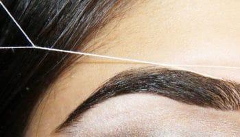 Как выщипать брови ниткой (30 фото)
